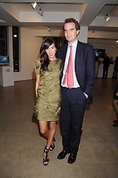 FRITZ VON WESTENHOLZ and CAROLINE SIEBER at the Quintessentailly Summer Party at the Phillips de Pury Gallery, 9 Howick Place, London on 9th July 2008.<br /><br />NON EXCLUSIVE - WORLD RIGHTS