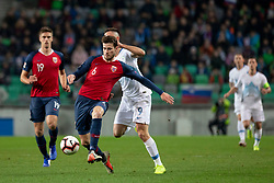 Havard Nordtveit of Norway during football match between National Teams of Slovenia and Norway in Final Tournament of UEFA Nations League 2019, on November 16, 2018 in SRC Stozice, Ljubljana, Slovenia. Photo by Urban Urbanc / Sportida