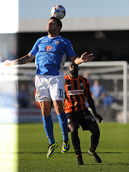 Craig McAllister Eastleigh, Barnet v Eastleigh, Vanarama Conference, Saturday 4th October 2014