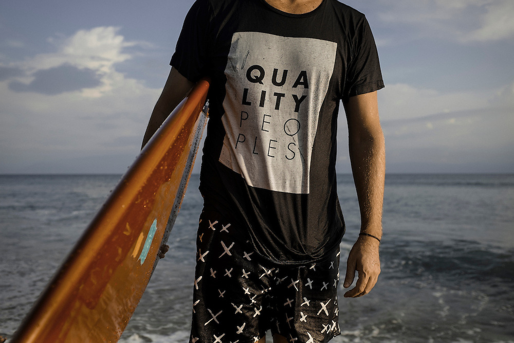 Surf apparel by Qualty Peoples. Punta Burros, Mexico