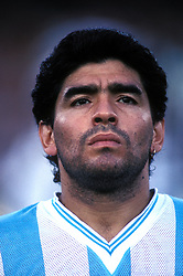 NOVEMBER 18, 2008: Diego Maradona, was recently appointed head coach of Argentina, talks with the media at the Radissin Hotel ahead of their international friendly match against Scotland at Hampden Park, in Glasgow, Scotland.(Credit Image: � Iconsport/Cal Sport Media/ZUMAPRESS.com)