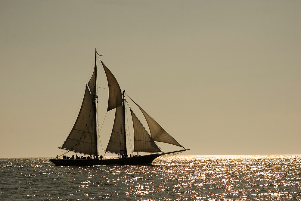 Schooner races in Gloucester, Masachusetts, also know as the Mayors race.