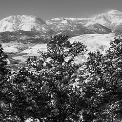 Snow on Mt. Rose