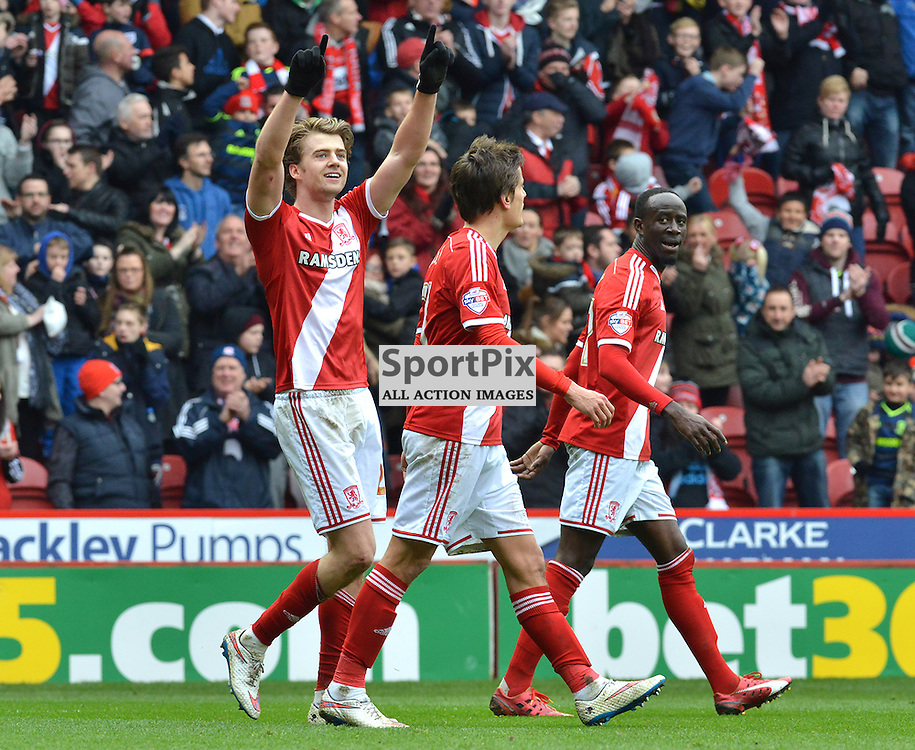 Patrick Bamford celebrates his first goal against Ipswich....(c) BILLY WHITE | SportPix.org.uk