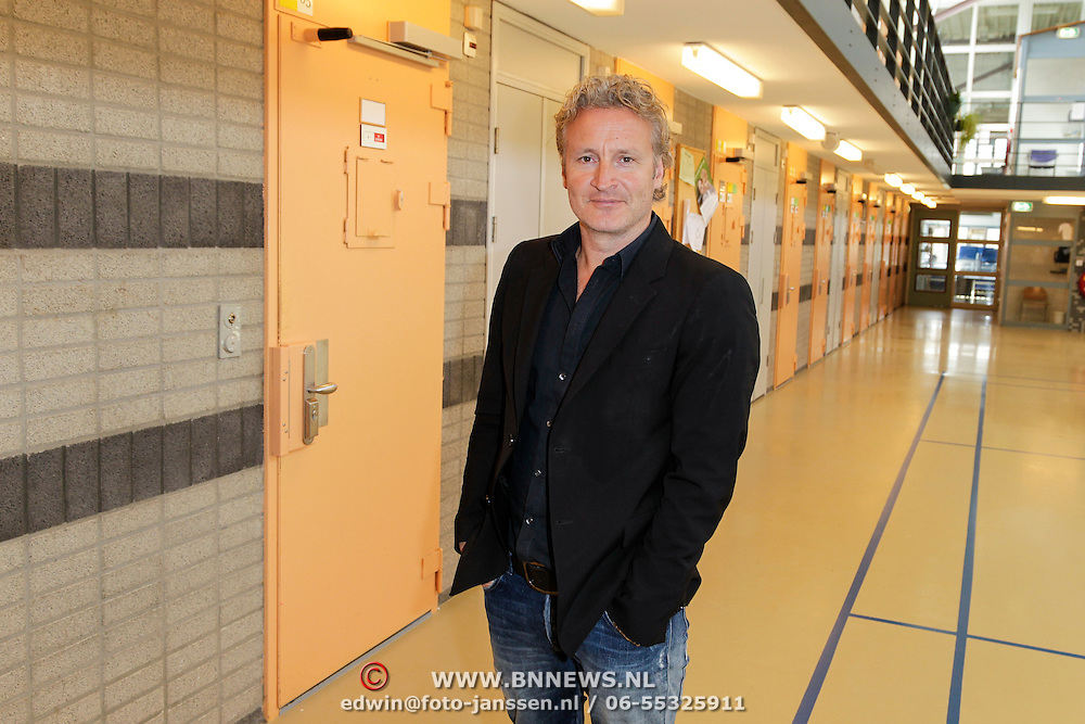 NLD/Almere/20120411 - Persviewing Buch in de Bajes, Erland Galjaard