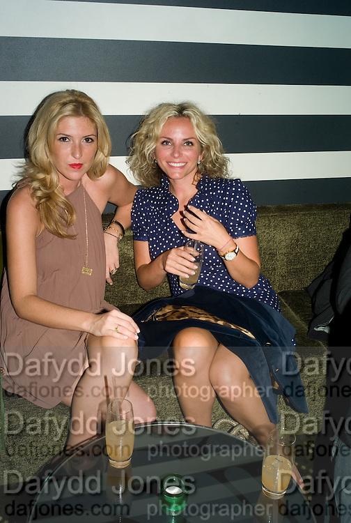 ANASTASIA LENGLET ( LEFT ) . Shooting Stars- Mat Collishaw. Haunch of Venison. London. 10 July 2008 *** Local Caption *** -DO NOT ARCHIVE-© Copyright Photograph by Dafydd Jones. 248 Clapham Rd. London SW9 0PZ. Tel 0207 820 0771. www.dafjones.com.