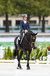Anne Frederique Royon, (FRA), J Adore - Individual Test Grade Ib Para Dressage - Alltech FEI World Equestrian Games™ 2014 - Normandy, France.<br /> © Hippo Foto Team - Jon Stroud <br /> 25/06/14