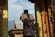 Hindu Temple in the small village of Kalpa.