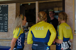 Time for a quick coffee but no bratwürst ahead of Thüringen Rundfarht 2016 - Stage 2 a 103km road race starting and finishing in Erfurt, Germany on 16th July 2016.