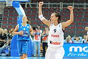 DESCRIZIONE : Riga Latvia Lettonia Eurobasket Women 2009 Quarter Final Francia Grecia France Greece<br /> GIOCATORE : Celine Dumerc<br /> SQUADRA : Francia France<br /> EVENTO : Eurobasket Women 2009 Campionati Europei Donne 2009 <br /> GARA : Francia Grecia France Greece<br /> DATA : 18/06/2009 <br /> CATEGORIA : super esultanza<br /> SPORT : Pallacanestro <br /> AUTORE : Agenzia Ciamillo-Castoria/M.Marchi<br /> Galleria : Eurobasket Women 2009 <br /> Fotonotizia : Riga Latvia Lettonia Eurobasket Women 2009 Quarter Final Francia Grecia France Greece<br /> Predefinita :