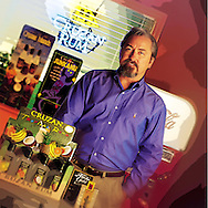 portrait of Jim Reisigl for printer brochure