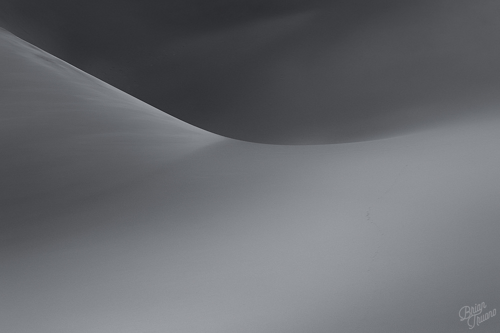 Dunes contain the complexity of billions of moving parts bouncing and scattering against one another. There's a tremendous amount of physics involved, mathematically speaking. Yet there's so much simplicity and elegance in the resulting form.
