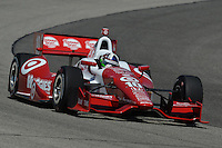 Dario Franchitti, Milwaukee IndyFest, Milwaukee Mile, West Allis, WI USA 06/15/13