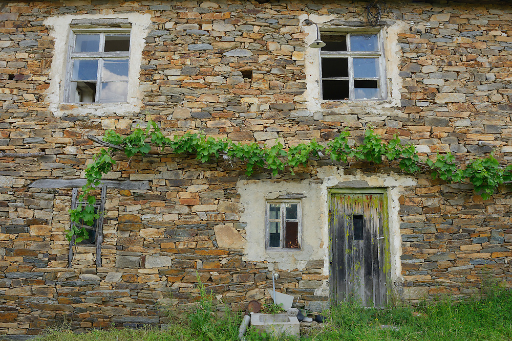 Tintiava abandoned village, Bela Reka, Eastern Rhodope mountains, Bulgaria