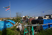 Radioactive materials inside the evacuated zone, Fukushima, Japan