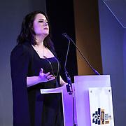 Manon Grandjean - Member's Address at The Music Producers Guild Awards at Grosvenor House, Park Lane, on 27th February 2020, London, UK.