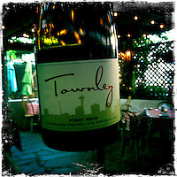 2013 May 13: Townley wine bottle in Healdsburg, Sonoma wine country iphone Hipsta.