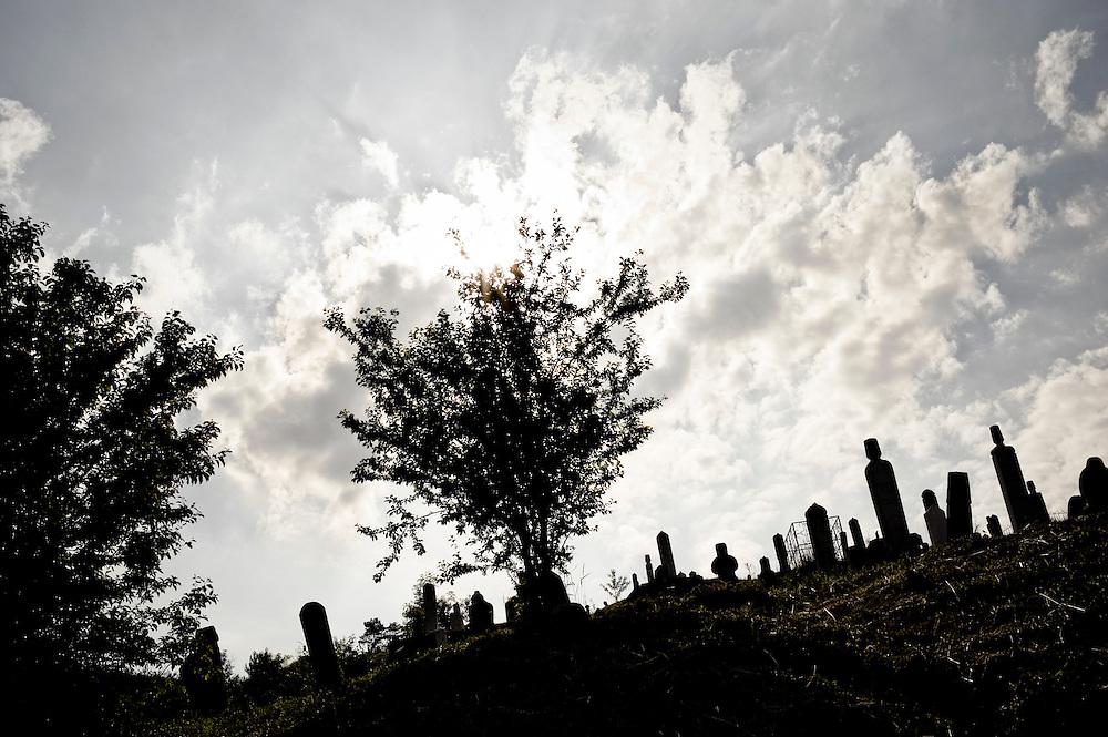 A muslim cemetery, Sarajevo, Bosnia and Herzegovina