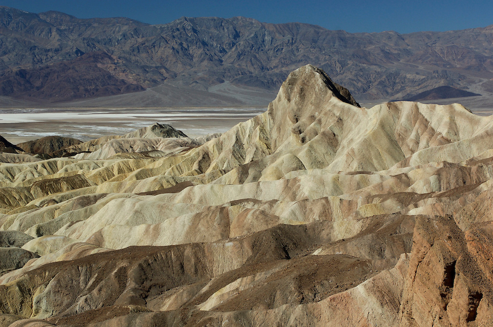 Zabriskie Point, Death Valley National Park, California, United States of America