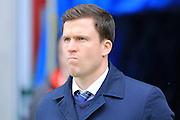 Gary Caldwell during the Sky Bet League 1 match between Wigan Athletic and Rochdale at the DW Stadium, Wigan, England on 28 March 2016. Photo by Daniel Youngs.