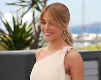 Actress Alice Isaaz at the Elle film photo call at the 69th Cannes Film Festival Saturday 21st May 2016, Cannes, France. Photography: Doreen Kennedy