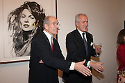 SANDY NAIRNE; JEREMY KING, Opening of Bailey's Stardust - Exhibition - National Portrait Gallery London. 3 February 2014