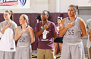January 16, 2014: The Oklahoma Panhandle State University Aggies play against the Oklahoma Christian University Lady Eagles in the Eagles Nest on the campus of Oklahoma Christian University.