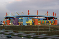 AVEIRO-09 DEZEMBRO:Fotografias do novo estádio municipal de Aveiro (estádio Mário Duarte), construido para albergar a equipa da primeira liga S.C.Beira-Mar e o EURO 2004 inaugurado a 29 de Setembro de 2003 09-10-2003 <br />(PHOTO BY: AFCD/NUNO ALEGRIA)