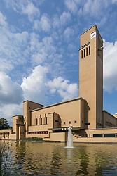 Raadhuis Hilversum, Dudok, Noord Holland, Netherlands
