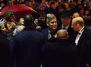 &copy;www.agencepeps.be/ F.Andrieu- A Rolland - France - Paris -<br /> 20140212 - Avant premi&egrave;re &quot;The Monuments Men&quot; UGC Normandie &agrave; Paris en pr&eacute;sence de Georges Clooney, Matt Damon, Bill Muray, John Goodman, Bob Balaban.<br /> Pics: George Clooney