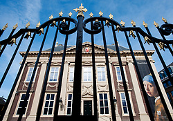 Exterior view of famous Mauritshuis art museum in The Hague ,The Netherlands
