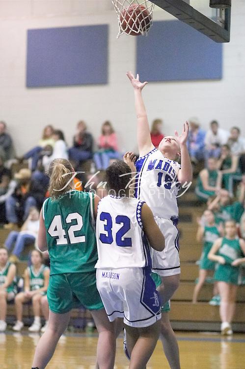 MCHS Varsity Girls Basketball..vs Greene..Third Period..December 7, 2004