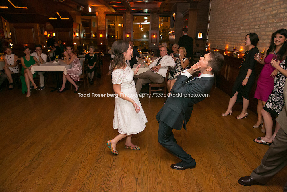 9/3/16 9:20:59 PM --  The wedding of Caroline Slack and Miles Maner at Revolution Brewing Co in Chicago, IL  © Todd Rosenberg Photography 2016