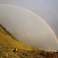 Lost Coast Trail | Double Rainbow<br />