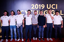 Israel Cycling Academy at UCI Cycling Gala 2019 in Guilin, China on October 22, 2019. Photo by Sean Robinson/velofocus.com