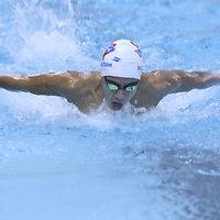 Jacob Lin of Texas Ford Aquatics competed Saturday in the Southern Zone Swimming at the Tupelo Aquatic Center
