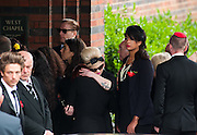 Kelly Osborne friend and celebrity of Amy at Amy's Golders Green Crematorium... Signer Amy Winehouse who was found dead in her flat on July 23 in London..Tributes have been paid to singer Amy Winehouse, 27, has been found dead at her north London home on July 23rd 2011...A Metropolitan Police spokesman said the cause of Winehouse's death was as yet unexplained...The Brit and Grammy award-winner had struggled with drink and drug addiction and had recently spent time in rehab....