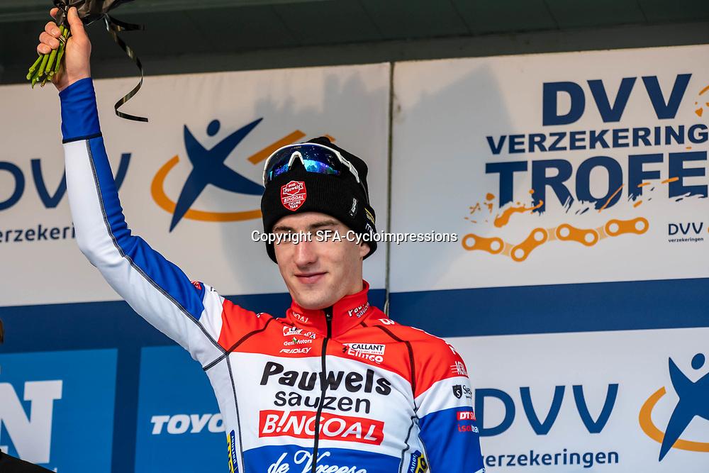17-11-2019: Wielrennen: Veldrijden DVV cross: Hamme Ryan Kamp is the new leader in the dvv troffee U23