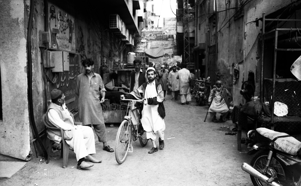 An on-going photos essay documenting life on Pakistan as the country's democracy is threatened by Talibanisation and militancy on several fronts. ..Traders and stalls in the Old City market area of Peshawar