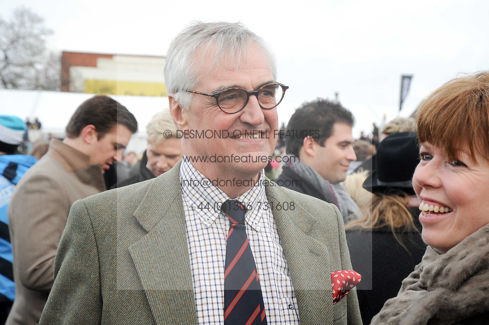 MAURICE HENNESSY at the Hennessy Gold Cup 2010 at Newbury Racecourse, Berkshire on 27th November 2010.
