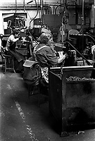 Female Chainmakers at Eliza Tinsley in The Black Country West Midlands UK