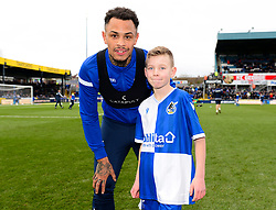MASCOT with Jonson Clarke-Harris of Bristol Rovers - Mandatory by-line: Dougie Allward/JMP - 07/12/2019 - FOOTBALL - Memorial Stadium - Bristol, England - Bristol Rovers v Southend United - Sky Bet League One