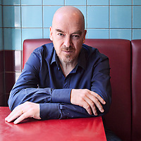Adrian Lourie<br /> London, UK<br /> http://www.adrianlourie.co.uk<br /> <br /> Rhidian Brook, novelist, screenwriter and broadcaster, photographed in North London.