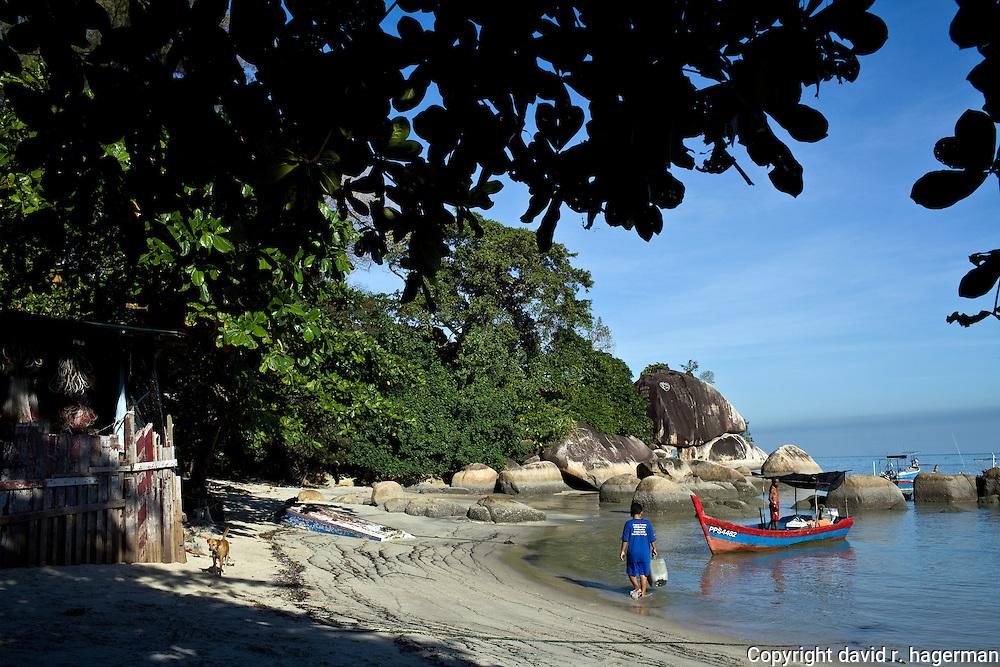 a fishing boat near Telok Pahang