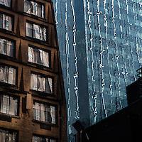New York City windows.