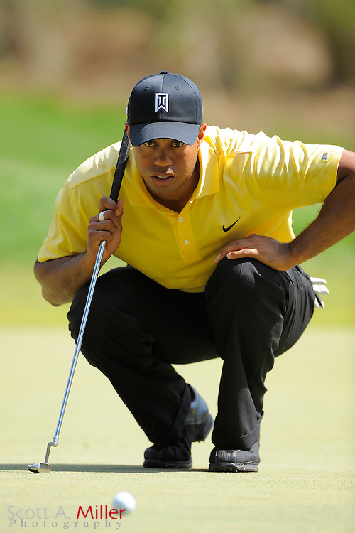 Tiger woods in action on the PGA Tour.