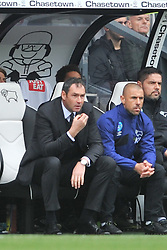 Paul Clement Manager Derby,   Derby County v Wolves, Ipro Stadium, Sky Bet Championship, Sunday 18th October 2015 (Score Derby 4, Wolves, 1)Derby County v Wolves, Ipro Stadium, Sky Bet Championship, Sunday 18th October 2015 (Score Derby 4, Wolves, 1)