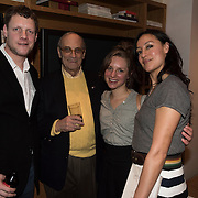 (l-r) Josh Chapin, Harvey Katz, Monica Wendel and Maria Venegas at the 'Still Waters in a Storm' benefit at The City Winery NYC. <br /> <br /> Still Waters in a Storm is a free school for children in the neighborhood of Bushwick, Brooklyn.Volunteers offer homework help and classes in reading, writing, violin, music composition, yoga and Latin, all free of charge to low-income families in the neighborhood.