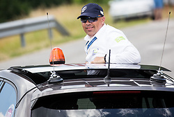 Judge Peter Judez during Stage 3 of 24th Tour of Slovenia 2017 / Tour de Slovenie from Celje to Rogla (167,7 km) cycling race on June 16, 2017 in Slovenia. Photo by Vid Ponikvar / Sportida