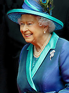 Frankfurt, 25-06-2015 <br /> <br /> SateVisit of Queen Elizabeth to Germany<br /> <br /> VISIT TO FRANKFURT<br /> <br /> <br /> <br /> <br /> Royalportraits Europe/Bernard Ruebsamen